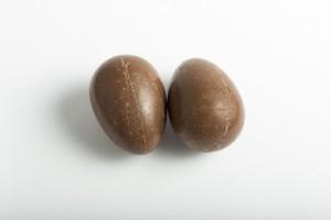 チョコレートの卵