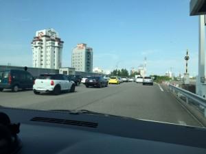 お盆の高速道路渋滞