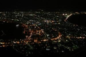 函館港の夜景