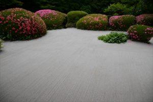 詩仙堂の庭園