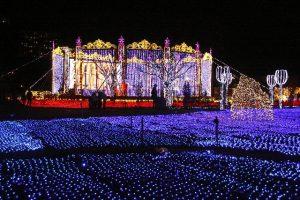 ハウステンボスの花と光の王国