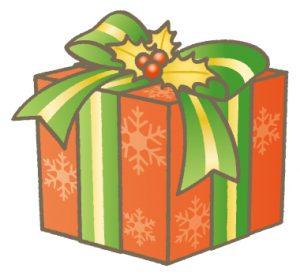 クリスマス会のプレゼント