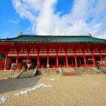 歴史ある平安神宮へ初詣に行こう!アクセス方と駐車場を確認