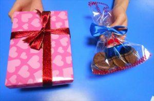 チョコレートプレゼント