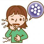 ノロウイルスの初期症状と潜伏期間や会社を休む期間は?