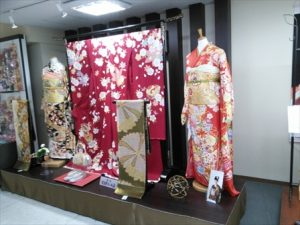 着物の展示